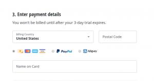 Les modes de paiement acceptés par VyprVPN